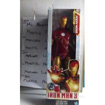 Figura Iron Man 25 Cm Avengers Titan Hero Series Marvel