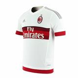 Nueva Camiseta Del Milan Titular Y Suplente Blanca Excelenle