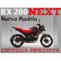 Moto Zanella Rx 200 Next 2017 Lanzamiento 0km