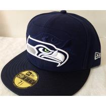 Nfl Seattle Seahawks Halcones Gorra New Era 7 1/2