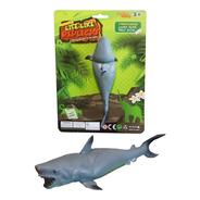 Animal Marino Individual Tiburon Blanco- Animal Goma Stretch