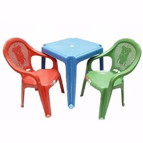Conjunto Mesa +2 Cadeira Poltrona Cm Apoio De Braço Infantil