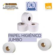 Papel Higienico Jumbo Blanco Tissue Premium 300 Mts X8u