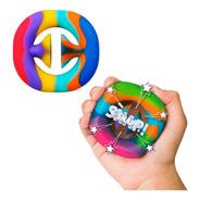 Snappers Juguete Fidget Toy Silicona Antiestres Y Sensorial