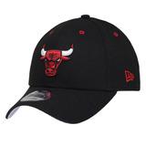 Boné New Era Aba Curva Snapback Nba Chicago Bulls Team Color