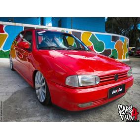 Tinta Automotiva Pu Vermelho Vitoria Vw Kit C\ 3,6 Litros