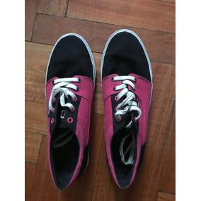 Zapatillas Dc Shoes, Fucsias/negro