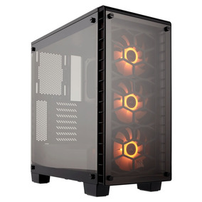 Gabinete Corsair Crystal 460x Rgb Tempered Glass Vidrio Game