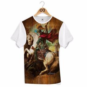 Camiseta Orixás - São Jorge Ogum