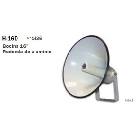 Bocina De Aluminio Con Driver 100 Watts Publicidad Ext - Pni