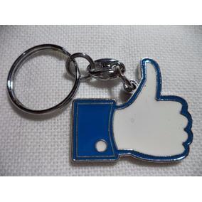 Facebook Like Precioso Llavero Metalico Facebook 0896