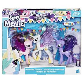 My Little Pony Mlp Movie Princesa Candance Luna Y Celestia