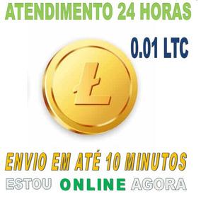Litecoin 0.01ltc - Faça Sua Cotação Aqui, Envio Em Instante