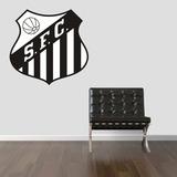 Adesivo Parede Escudo Time Paulista Santos Futebol Clube
