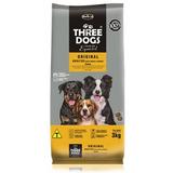 Ração Three Dogs Cães Adultos Raças Médias Original 20 Kg