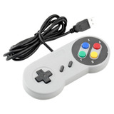 Control Súper Nintendo Usb Snes Pc Mac Raspberry Dvd Gratis