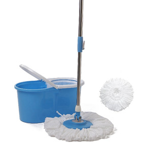 Spin Mop 360 Balde Centrifugador Esfregão - Cor Azul