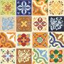 Adesivo Decorativo De Azulejo De Cozinha - Antigo P 10x10cm