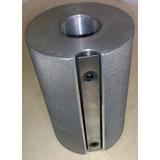 Cabeçote Porta Lixa Para Tupia De Bancada 120x80mm Furo 30