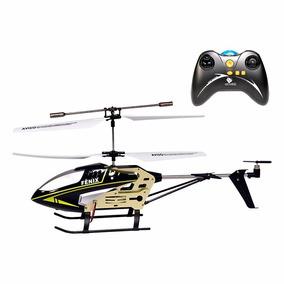 Helicoptero Grande Controle Remoto 3 Canais Giratorio Luz Nf