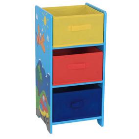 Mueble Infantil 3 Cajones Hds Cajonera Dibujo Good And Good