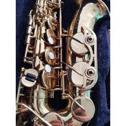 Sax Alto Yamaha Yas62 G1 Gold, Sax Usado, Igual A Novo, Top