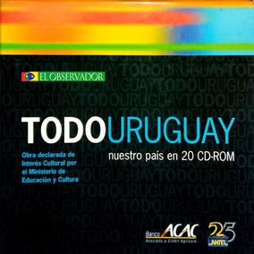 Colección Todo Uruguay El Observador 20 Cd-rom + Respaldo