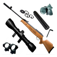 Rifle Aire Nitro Piston Fox Gr1600 + Mira 4x32 + Silenciado