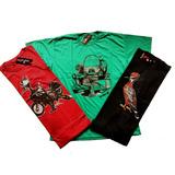 Kit 10 Camisas Masculina Camisetas Blusa Atacado