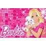 30 Cofrinho Papelão 6x10 Personalizado Nome E Idade Barbie