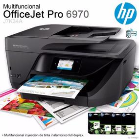 Multifuncional Hp Officejet Pro 6970 + Cartuchos Llenos