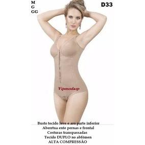 * Modelador Pós Parto Cirurgia Cinta Body Abdominoplastia
