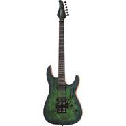 Guitarra Schecter Electrica C-6 Fr Pro Aqua Burst
