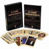 Livro Tarô Mitológico-baralho Com 78 Lâminas Coloridas+livro