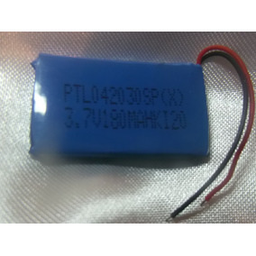 Pila Bateria Mp3 Mp4 3.7 Vol 180 Mah Ptl042030sp(x) Equiprog