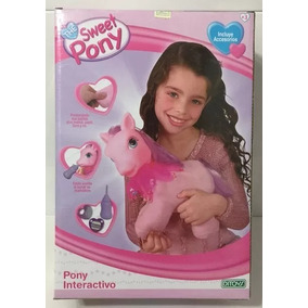 My Sweet Pony Peluche Interactivo Con Sonido Art 1061