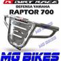 Defensa Dirt Race Cromada Raptor 700 Unicamente En Mg Bikes