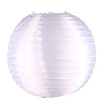 Luminária De Tecido Japoneses Oriental 30cm Branca C/150 Pçs