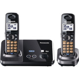 Panasonic Kx-tg9322t Teléfono Dect 6.0 De 2 Líneas, Led