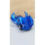 Corvette Sting Ray Concept Escala 1:24 Azul Metal Coleccion