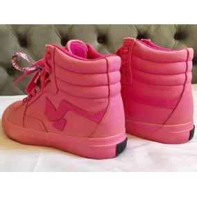 Tênis Cano Alto Madfoot Pink