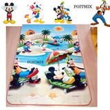Tapete Infantil Dupla Face Mickey Carros 1.80 X 1,20 Barato
