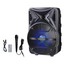 Parlante Portátil 8w Bluetooth Control Micrófono 8 Pulgadas