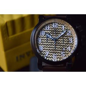 Invicta Aviador Oversize Precioso Piel Tiempo Exacto Relojes