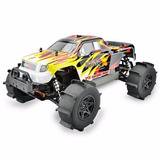 Camioneta Monster 4x4 Sumergible Anfibio 1:10 Todo Terreno