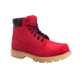 Bota Industrial Goodyear Work Clm11 1868 Id 134360 Rojo