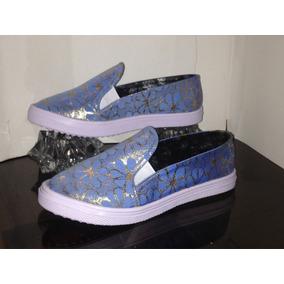 Zapatos Zapatilla Gomas Dama Tip Vans