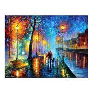 Poster Decorativo 50x70cm Afremov - Melody Of The Night