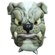 Mascara De Bulldog. Perro. Disfraz Para Fiestas. Halloween