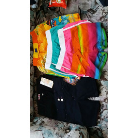 Lote De 6 Shorts Nuevos Infantiles